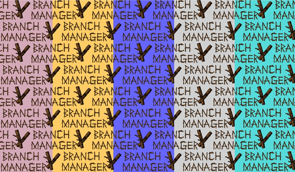 Branch Manager, various colors