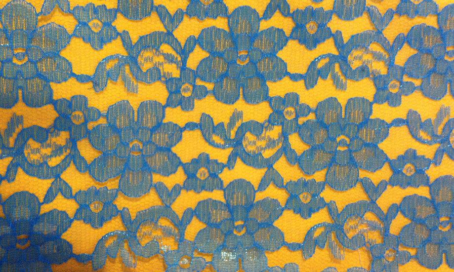 LA2 Blue and Yellow Lace