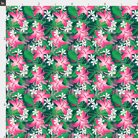Spring Tropical Floral