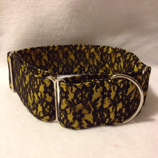 LA8 Black and Yellow Lace