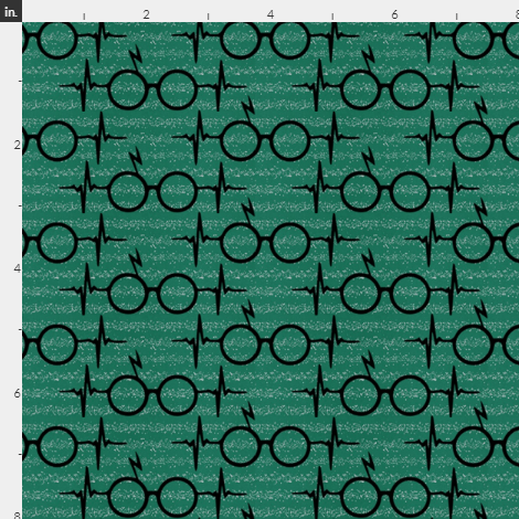 Wizard Glasses, green