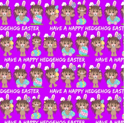 # 3.19-28 Hedgehog Easter