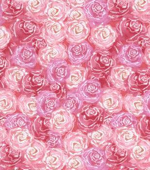 5.89 ROSES, PINK WITH FROST