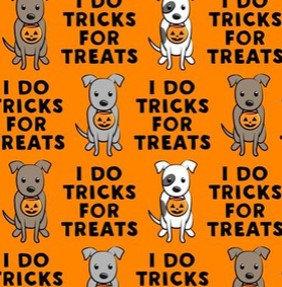I do tricks, orange