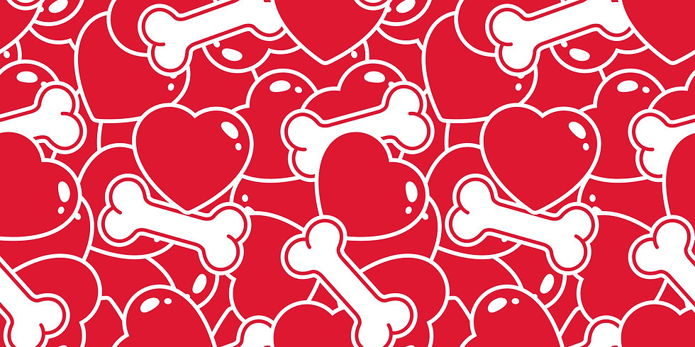 V-15 Bones with hearts
