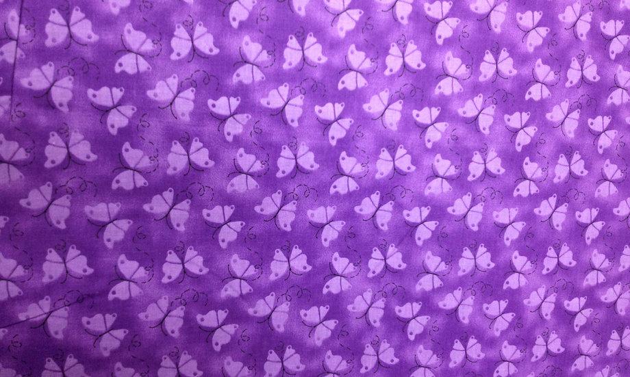 IN40 Purple butterflies