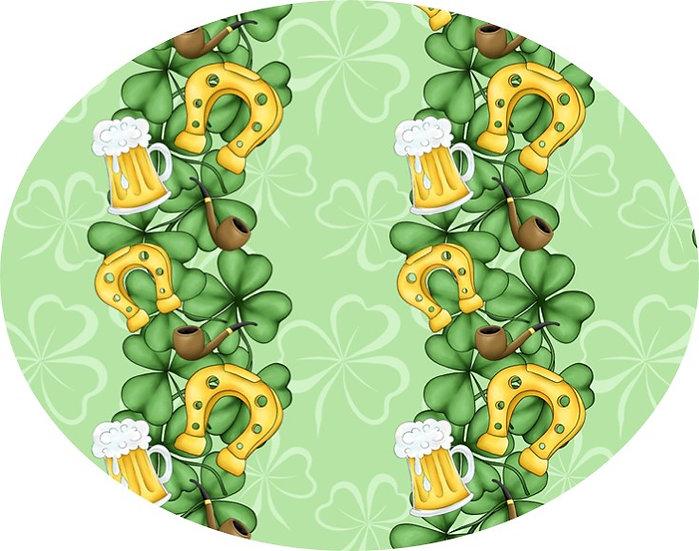 1-2020-29 Vertical shamrock/beer/horseshoe