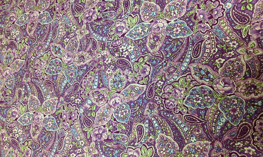 PA62 Purple Paisley