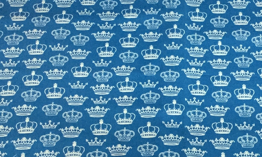 CROWN8 Blue with white crowns