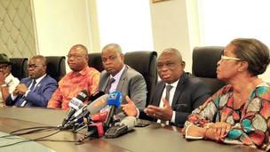 Côte-d'Ivoire~Le gouvernement n'a indiqué de restrictions pour l'accueil de Gbagbo, selon Katinan