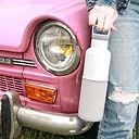 HYDY Bottle, CinCin Black, Double Wall Stainless Bottle, Thermos Water Bottle