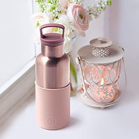 HYDY Water bottles, HYDY, Vacuum, Insulated, Thermal, Water Bottle, BPA Free, Stainless Steel, Hold Ice Longer, Keep Drinks Hot, Rust Proof, Modern Stylish, Flask in 3 Sizes, iF design award winner