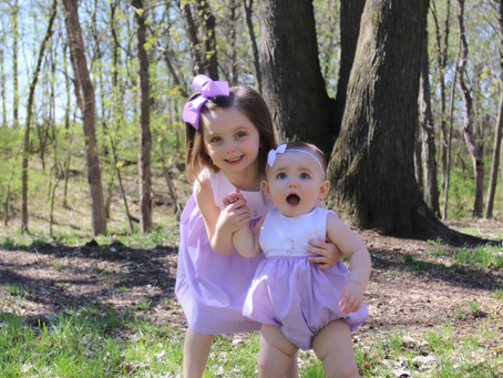 Easter Blessings & A Baby Birthday