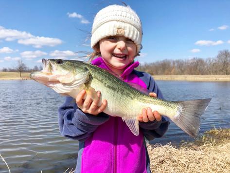 Spring Fishing & Sandy Feet!