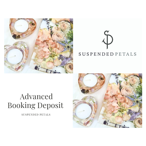 Advance Booking Deposit
