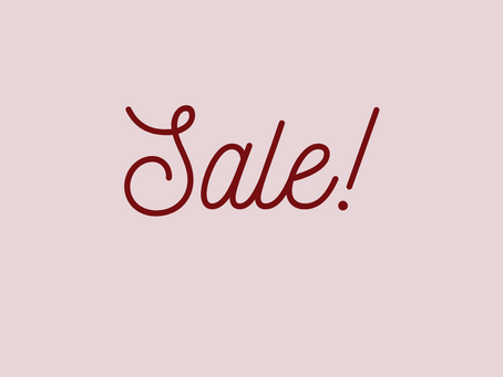 New Year Sale!