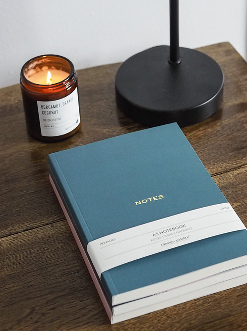 Teal Marble Notebook