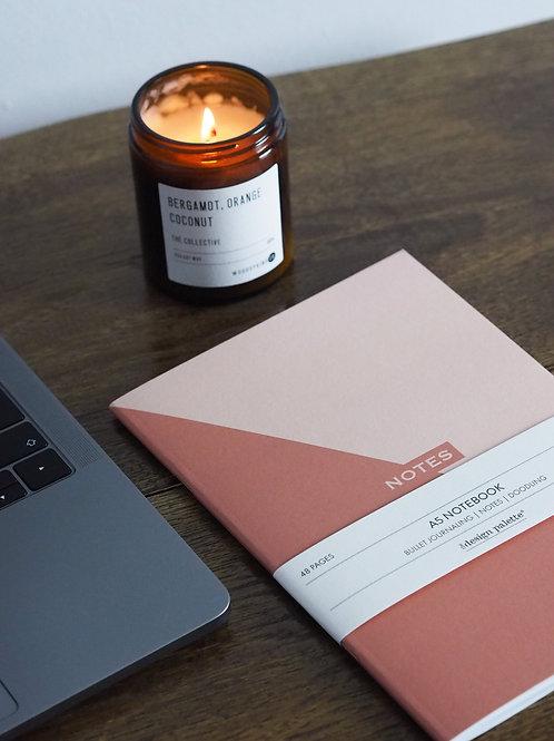 Two-Tone Geometrics Notebook