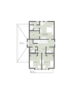 Limelight 2 level model Home - Upper Floor Plan