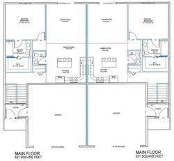 Twinhome main floor