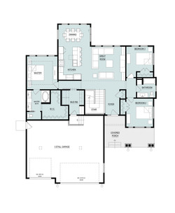 1716 Rambler Floor Plan - Main