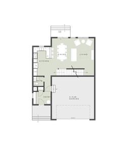 Limelight 2 level model Home - Main Floor Plan