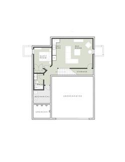 Limelight 2 level model Home - Lower Floor Plan