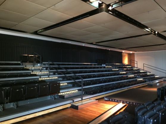 Arquibancada Retrátil móvel do Shopping Jk Iguatemi