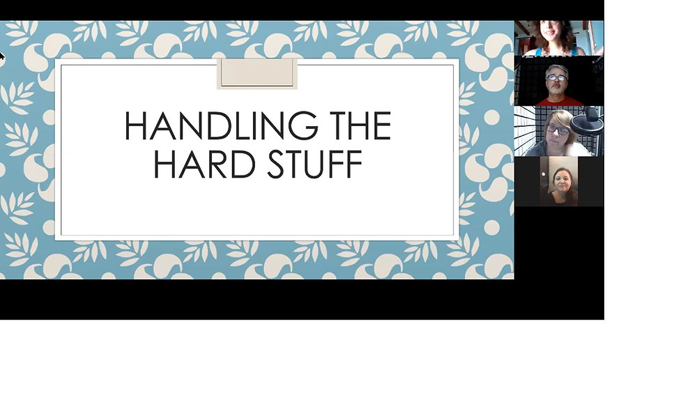 Handling the Hard Stuff