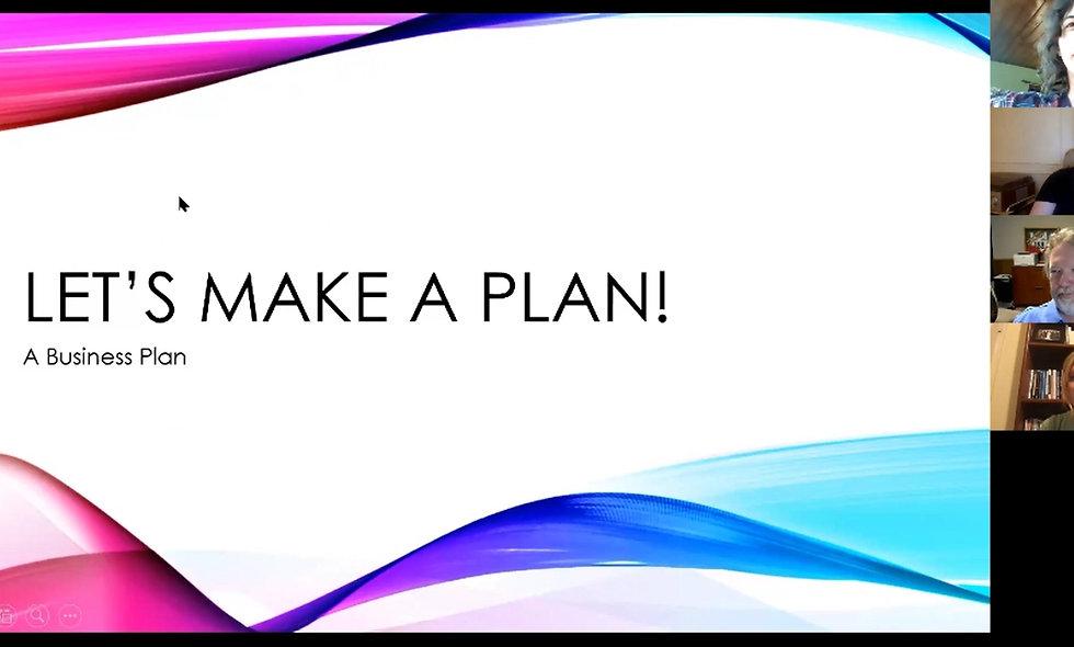 Let's Make a Plan! (A Business Plan)