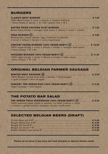 Best Belgian fries in Bruges - The Potat