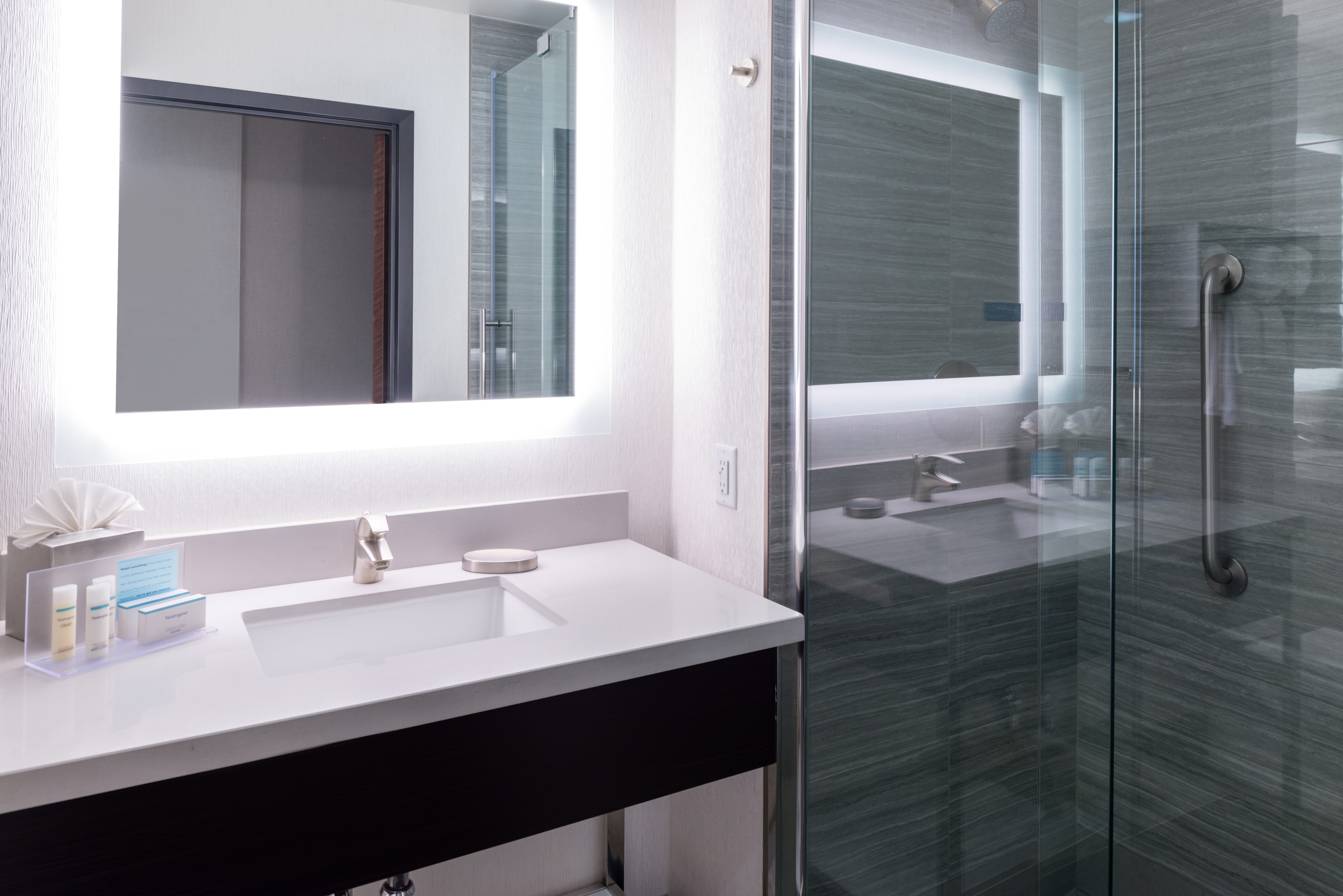 Hampton Inn SF Bathroom