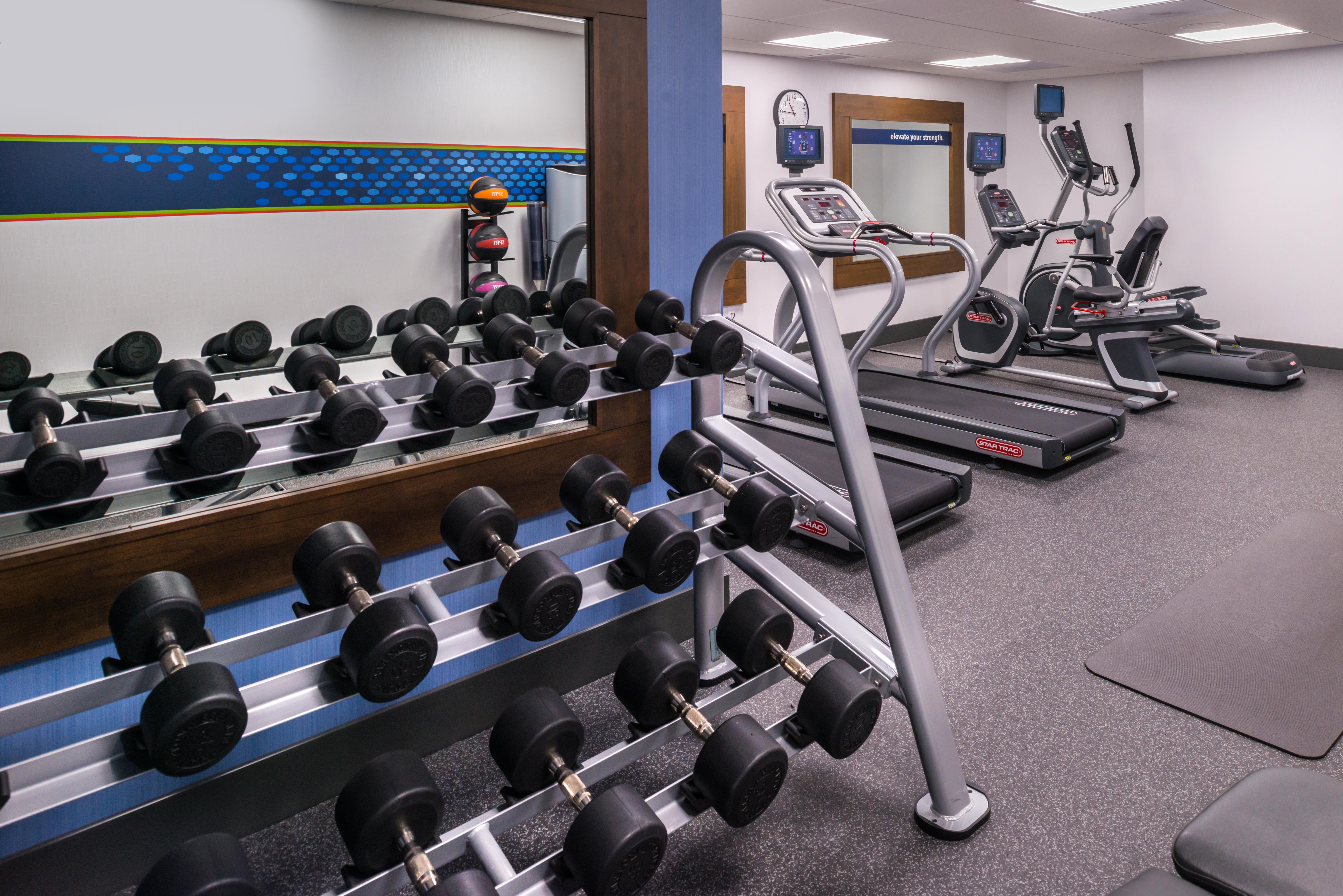 Hampton Inn SF Fitness Center