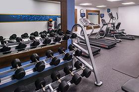 Hampton Inn SF Fitness Room