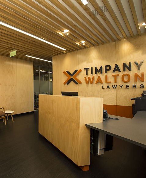 Timpany Walton Reception Designed By Architectural Designer Joshua Newlove