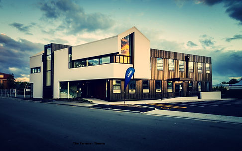 The Terrace Building Designed by Local Timaru Architect Leon Browning - Architect Timaru