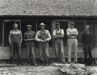 Six Tenant Farmers without Farms, Hardeman County, Texas