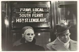 Subway Passengers, New York City