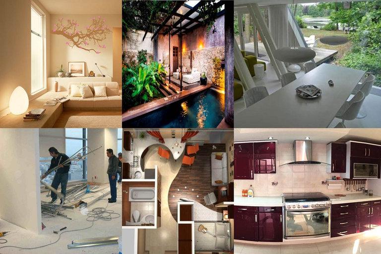 remodelaciones interiores y exteriores en casa, departamentes