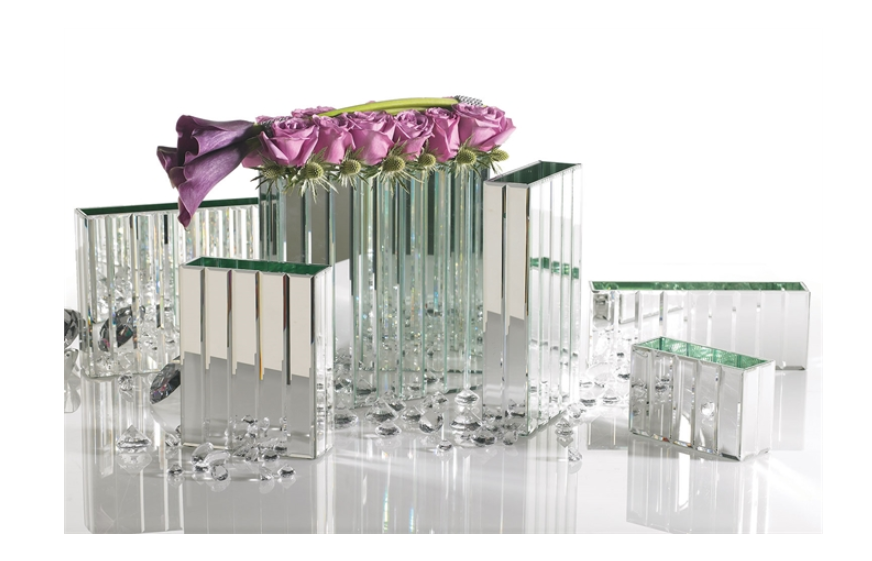 Modern Mirror Vases