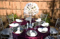 Elegant Silver Vase