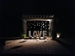 """LOVE"" Table"