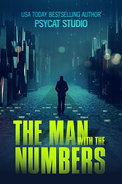 Book cover, premade, thriller, suspence, dark man