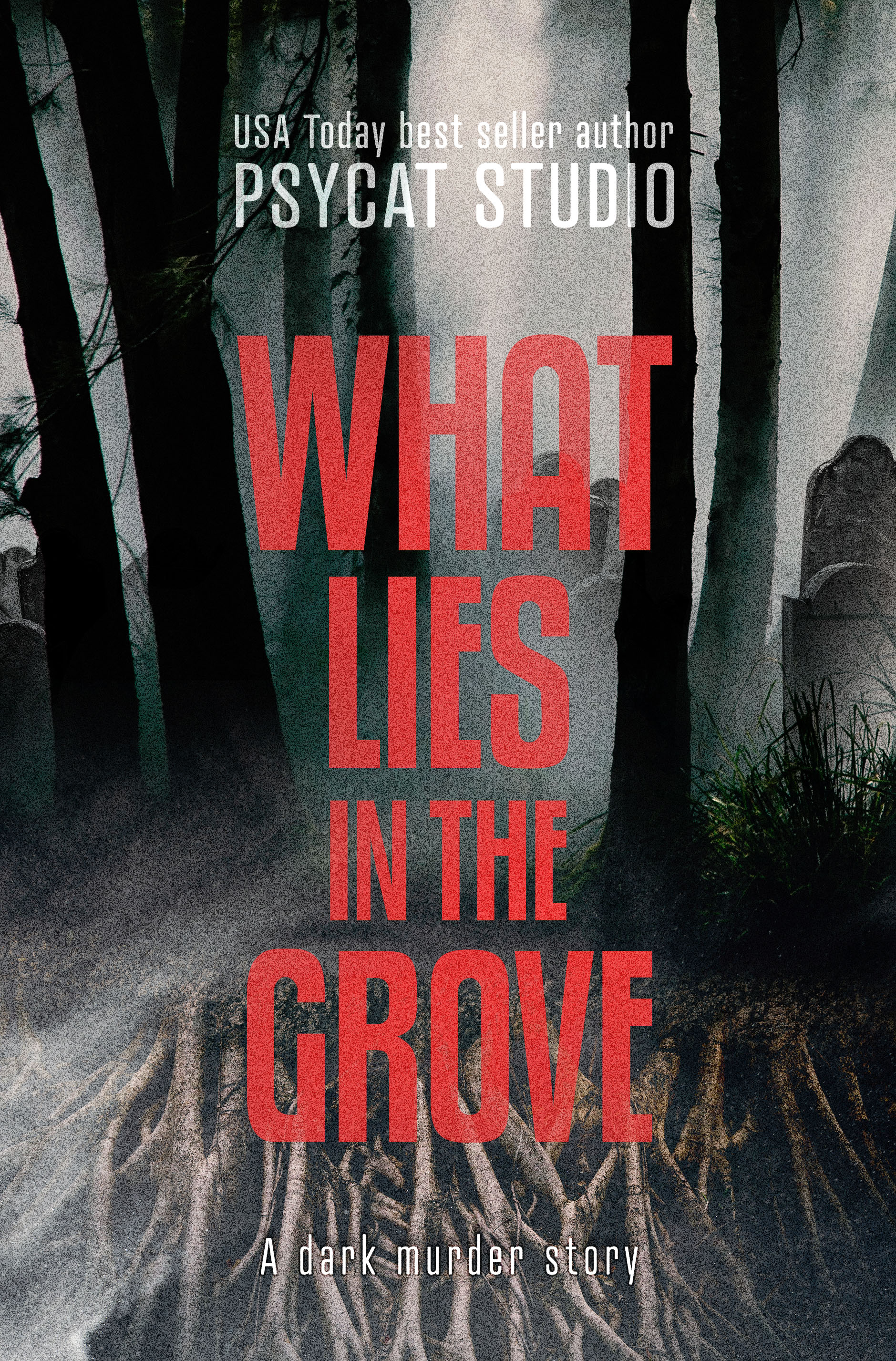 What lies in the grove