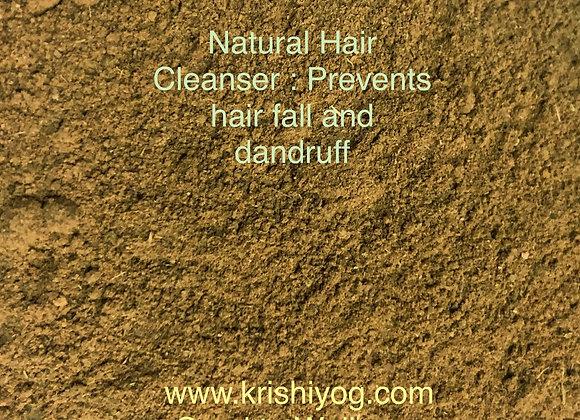 Hair Cleanser (Anti hairfall, Anit dandruff) - 100% Natural Ingredients (100gms)