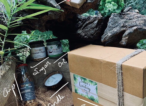 Coconutty Gift Hamper: A collection of curated coconut based products