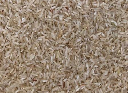 RICE (Indrayani) - 100% Naturally grown, raw polish with bran (fibre)-1Kg