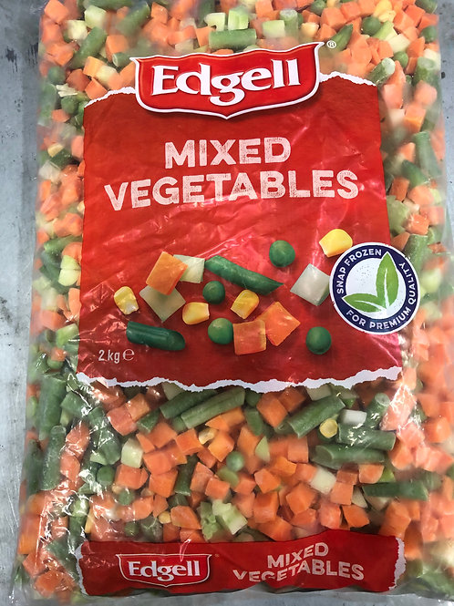 Mixed Vegetables 2kg {Frozen}