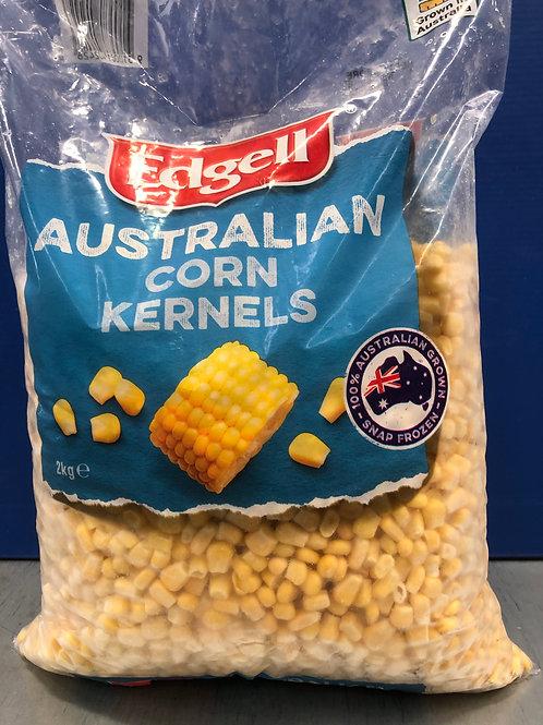 Corn Kernels 2kg {Frozen}
