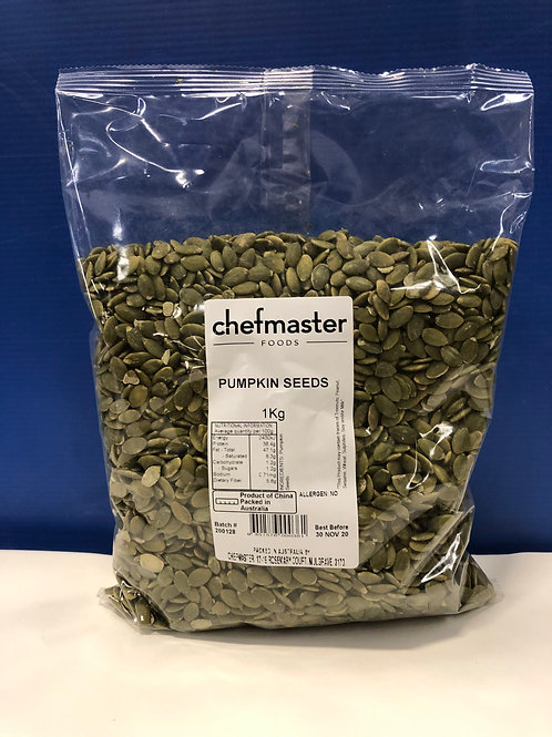 Pumpkin Seeds 1kg bag